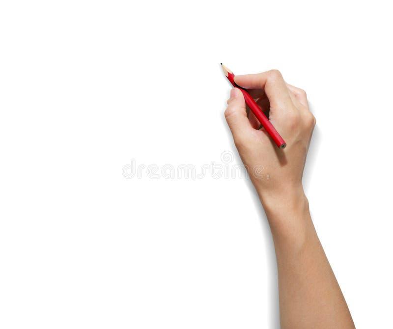 Crayon de MAIN images libres de droits