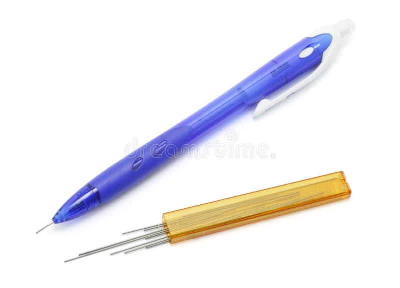 Crayon et fils de sortie mécaniques photographie stock