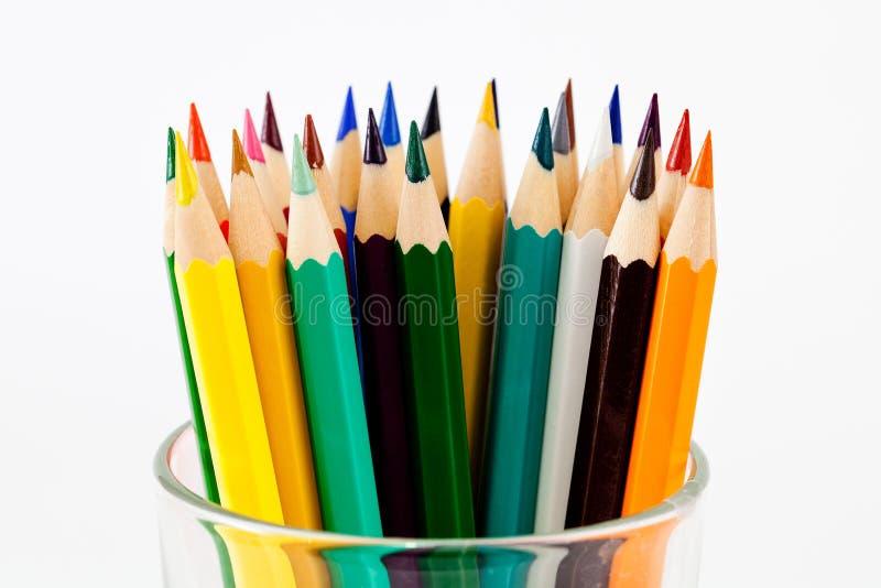 Crayon et pastel image stock