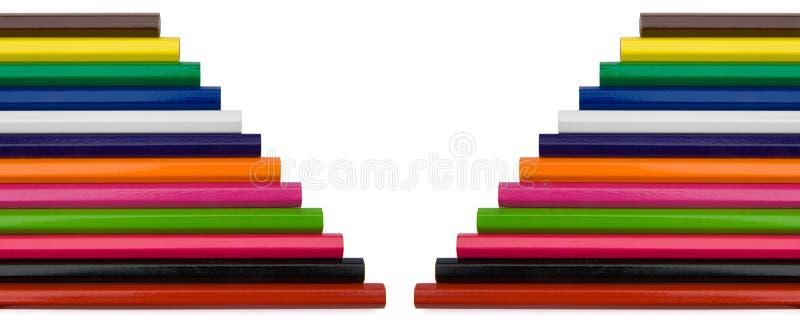 crayon format v royaltyfria foton