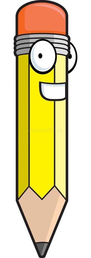 Download Crayon heureux illustration de vecteur. Illustration du crayon - 2134175