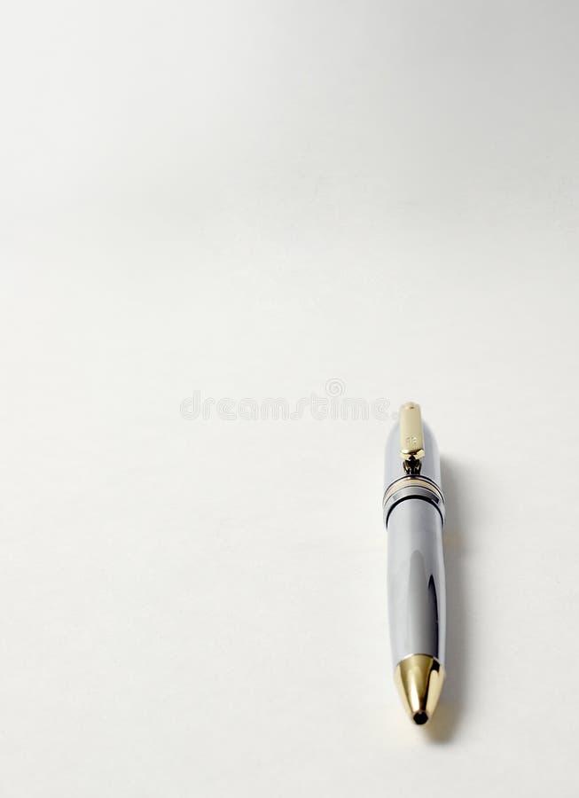 Crayon Lecteur Argenté Photos libres de droits