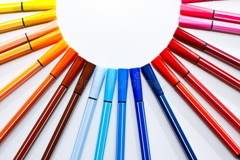 Crayon lecteur de couleur images stock