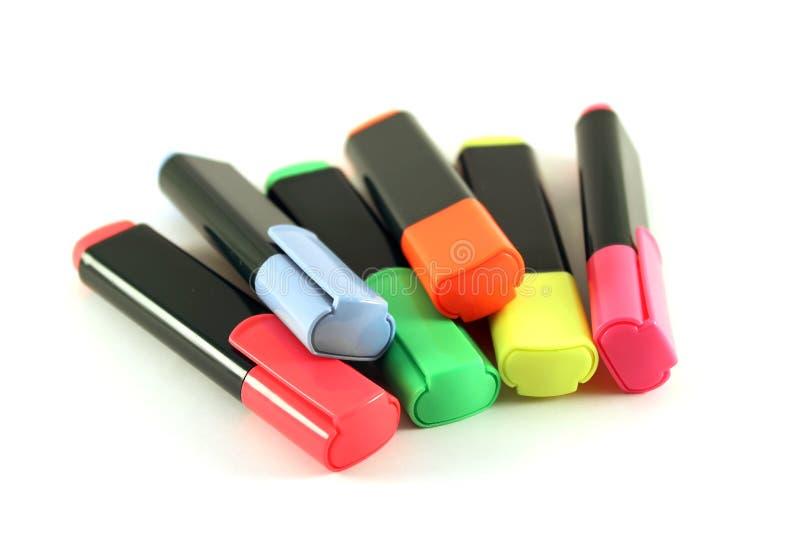 Crayon lecteur de repère photographie stock
