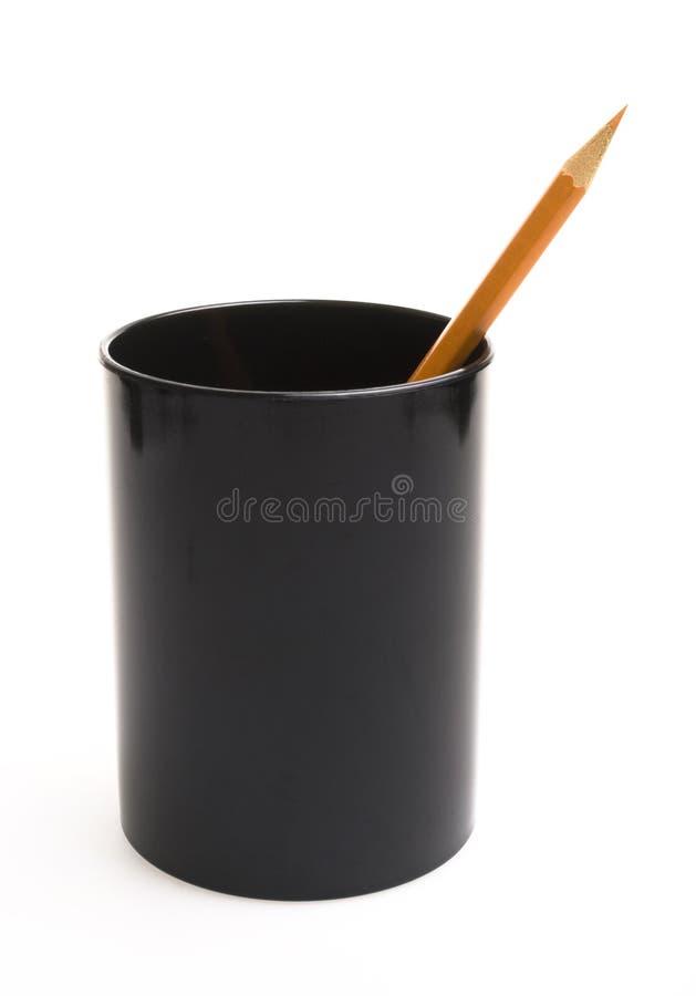 Crayon lecteur et bac image stock