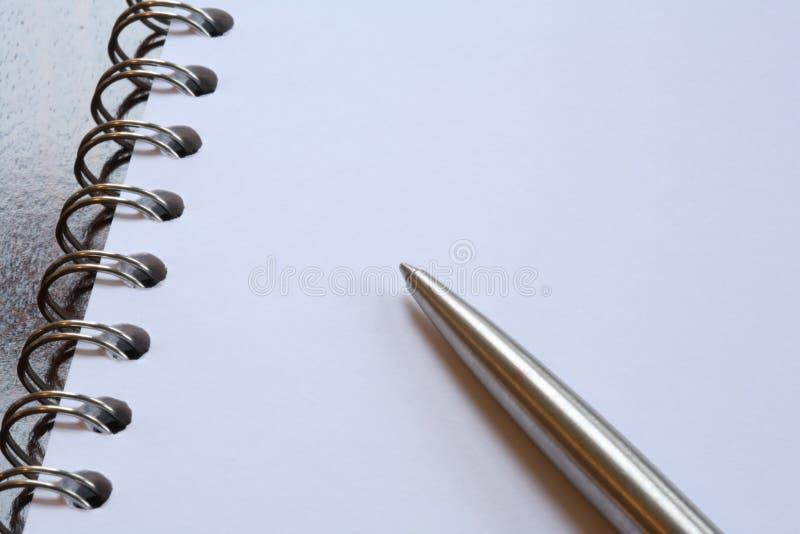 Crayon lecteur et papier photographie stock