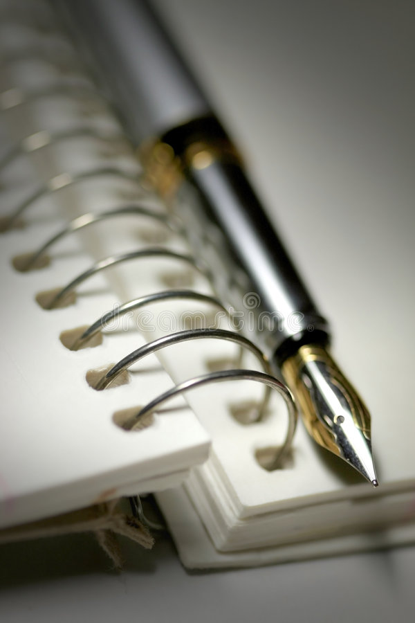 Crayon lecteur et spirale - limite image libre de droits