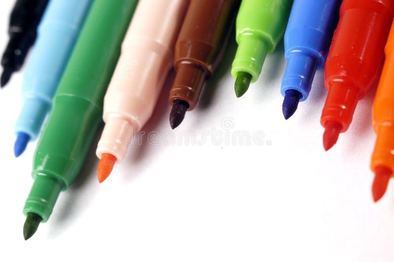 Crayon lecteur feutre image libre de droits