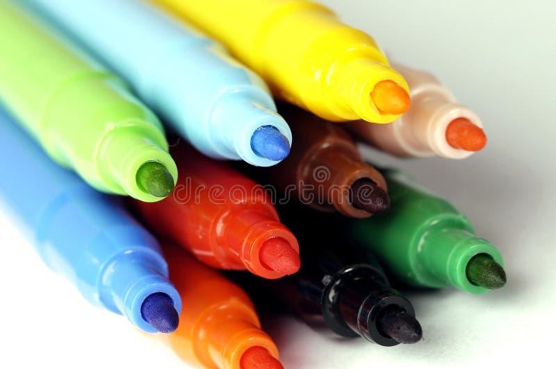Crayon lecteur feutre photo libre de droits