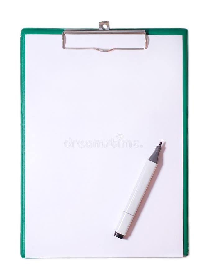 crayon lecteur magique de notification de panneau images libres de droits