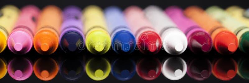 Crayon Panorama royalty free stock image