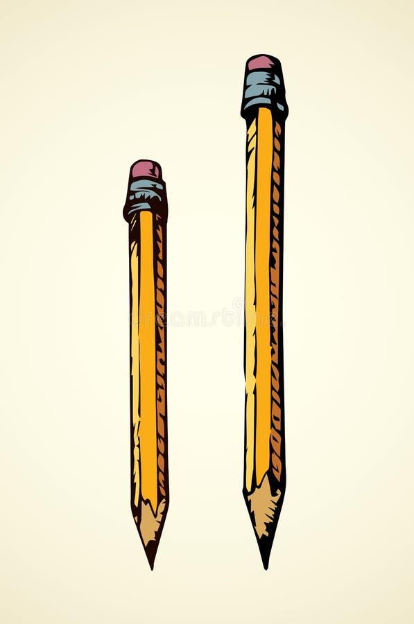 Crayon Retrait de vecteur illustration stock