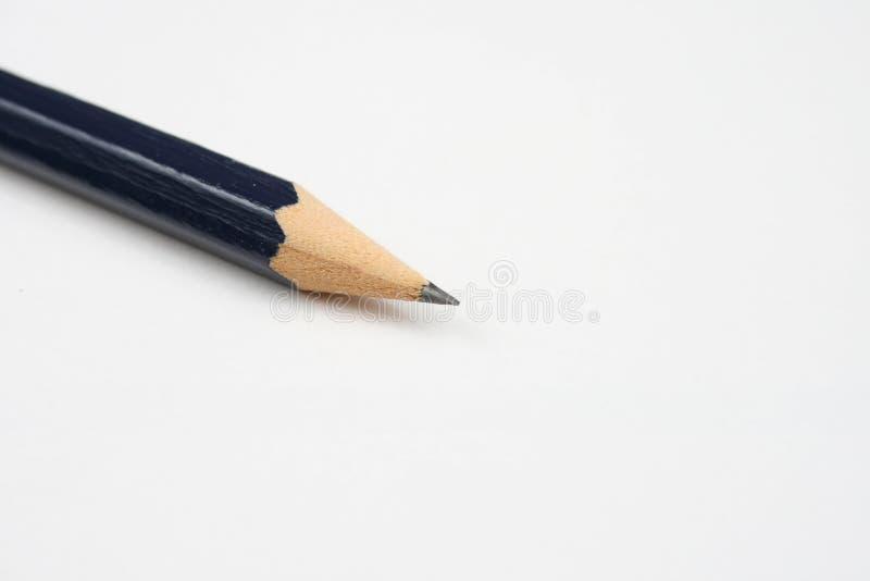 Crayon sur le blanc photographie stock