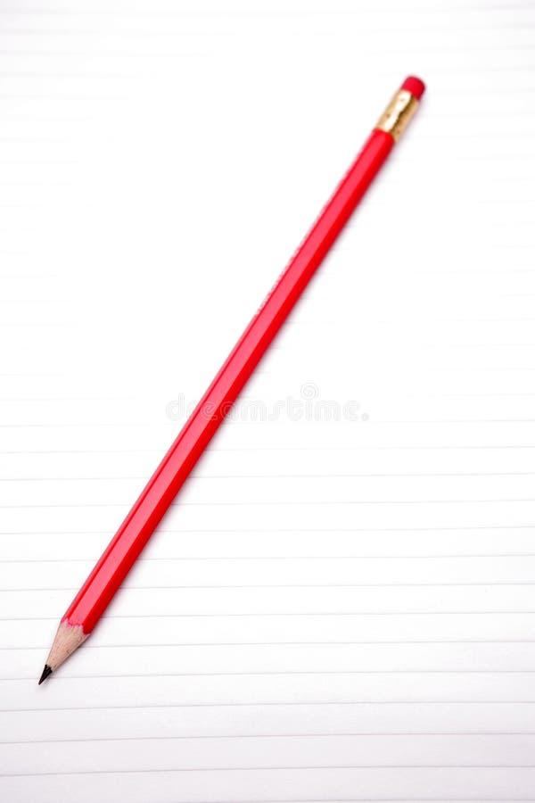 Crayon sur le papier photos libres de droits