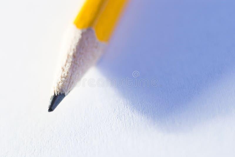 Crayonnez l'extrémité photo libre de droits