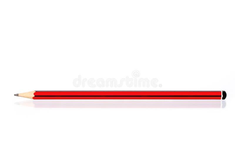 Crayonnez, reflété photos stock