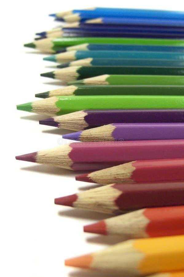 Download Crayons предпосылка стоковое фото. изображение насчитывающей макрос - 33727726