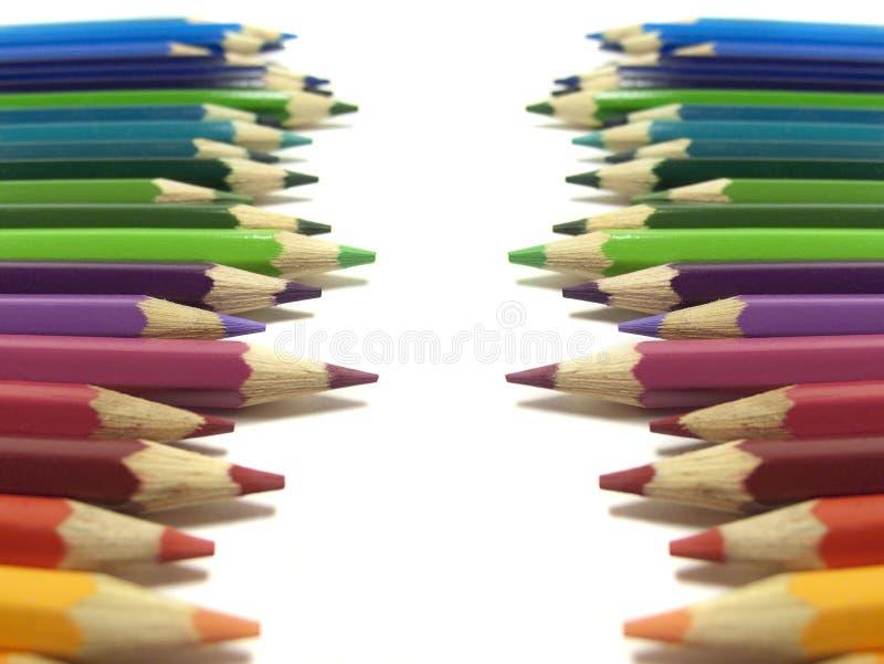 Download Crayons предпосылка стоковое фото. изображение насчитывающей green - 33727792