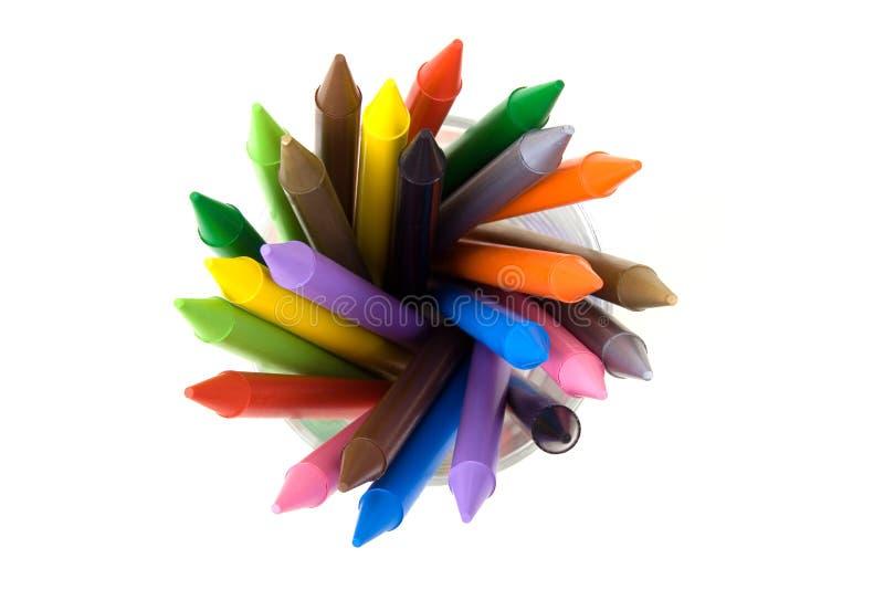 Crayons_03 imagens de stock