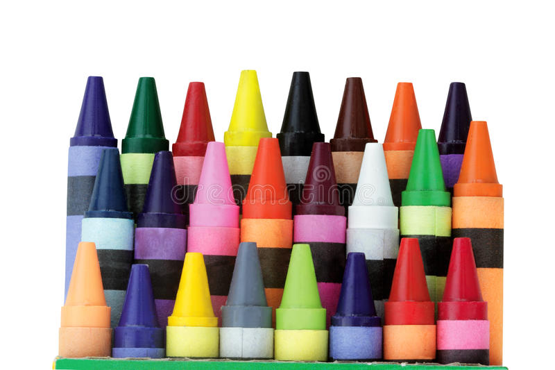Download Crayons stock image. Image of vivid, blue, creativity - 15439883