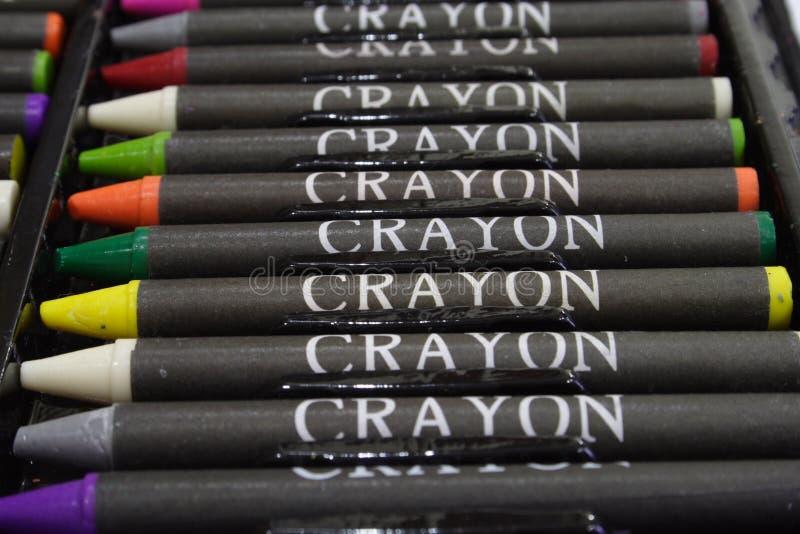 Crayons 2 image stock