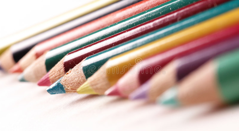Download Crayons stock image. Image of student, colour, color, artist - 451473