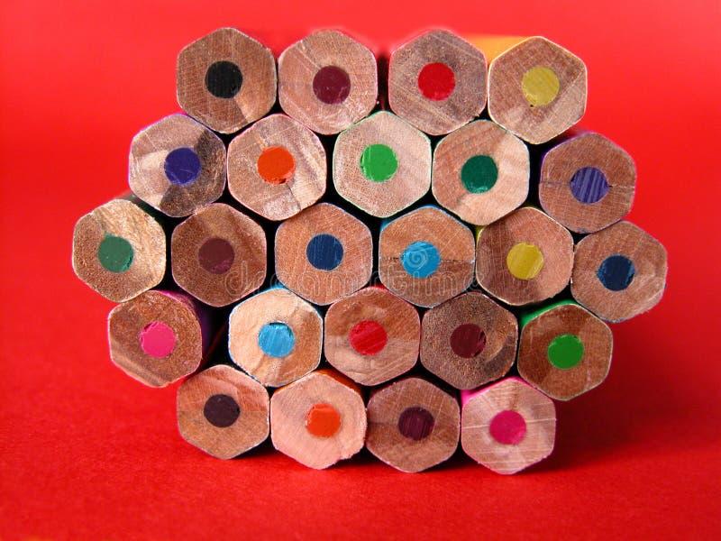 Crayons photo libre de droits