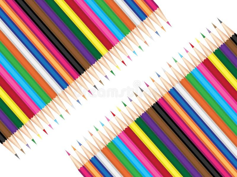Download Crayons illustration de vecteur. Illustration du crayon - 8653601