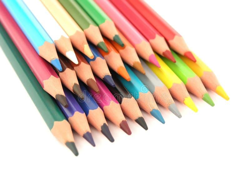 Crayons Стоковые Фотографии RF