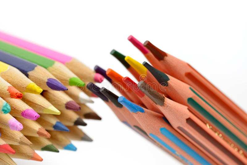 Download Crayons colorés photo stock. Image du créateur, playtime - 56479138