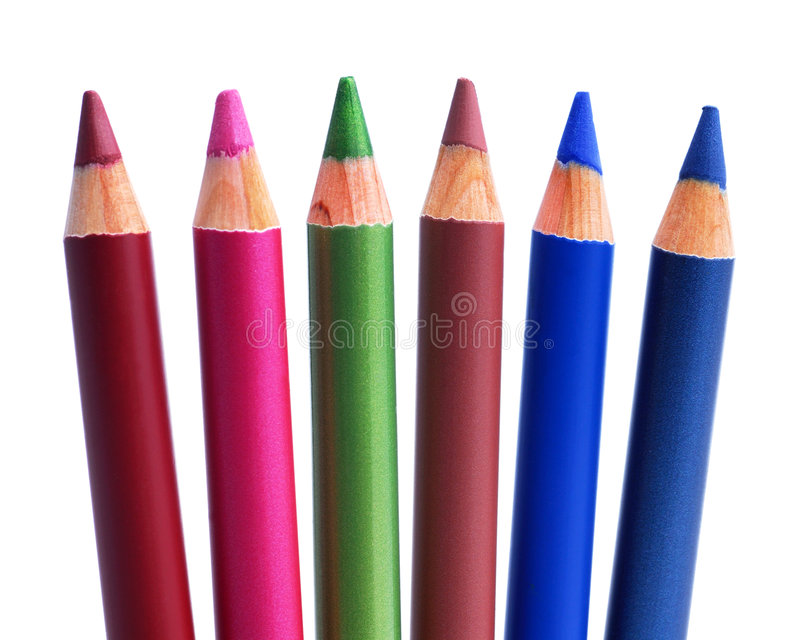 Crayons cosmétiques images stock