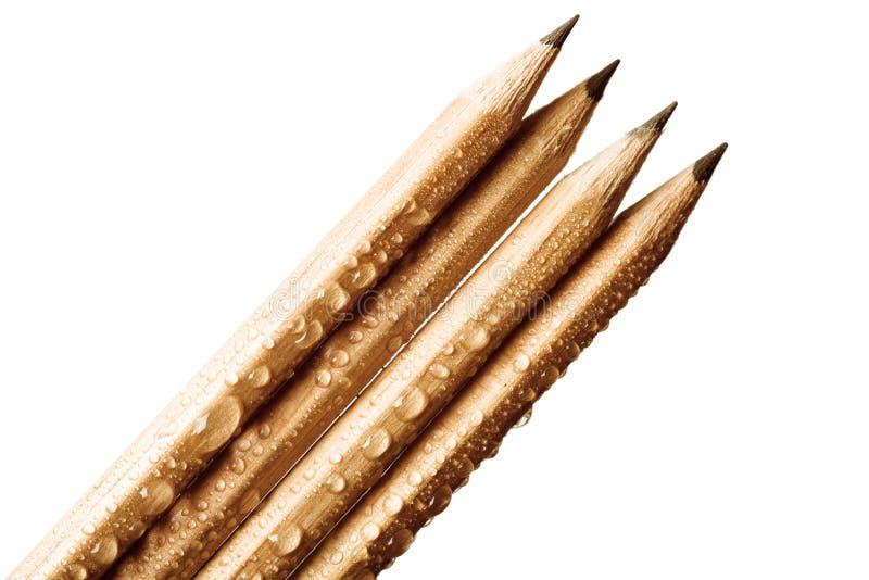 crayons d'idées originales photographie stock libre de droits