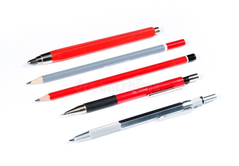 Download Crayons D'isolement Sur Le Blanc Image stock - Image du métal, closeup: 45350847