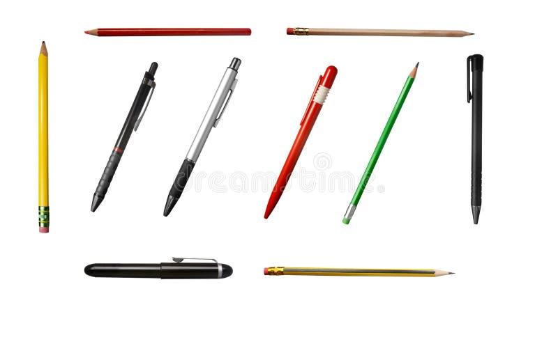 crayons de 1 groupe photographie stock