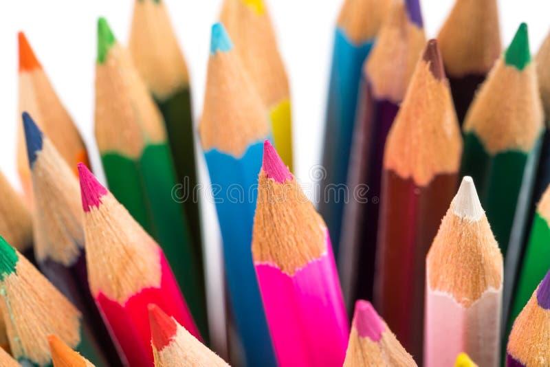 Download Crayons de couleur image stock. Image du peinture, groupe - 56477063