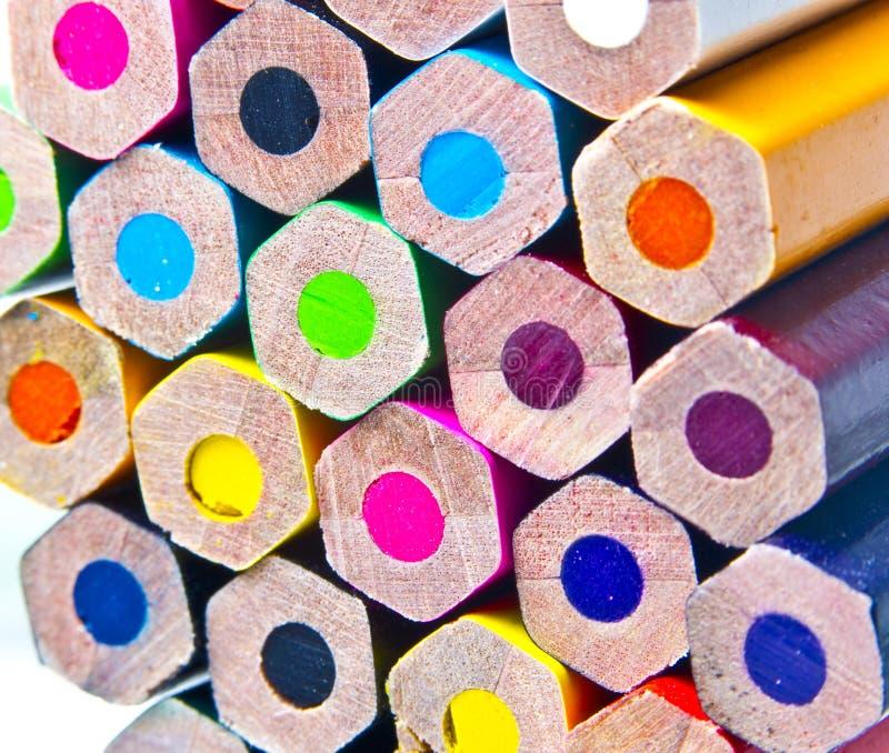 Crayons lecteurs photo stock