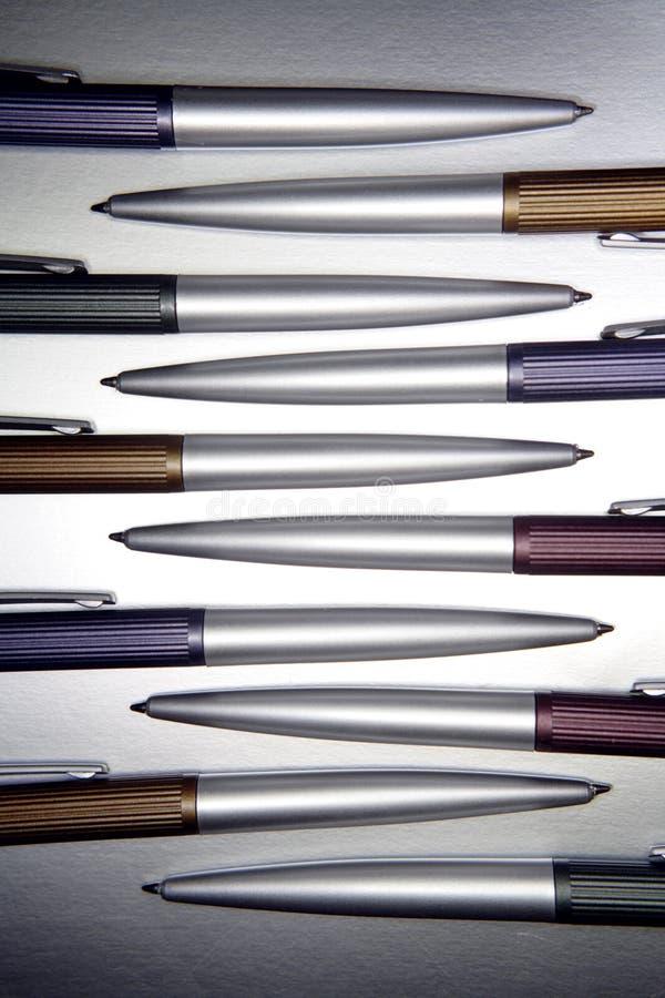 Crayons lecteurs assortis photo stock