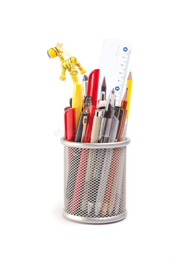 Crayons lecteurs et crayons photographie stock