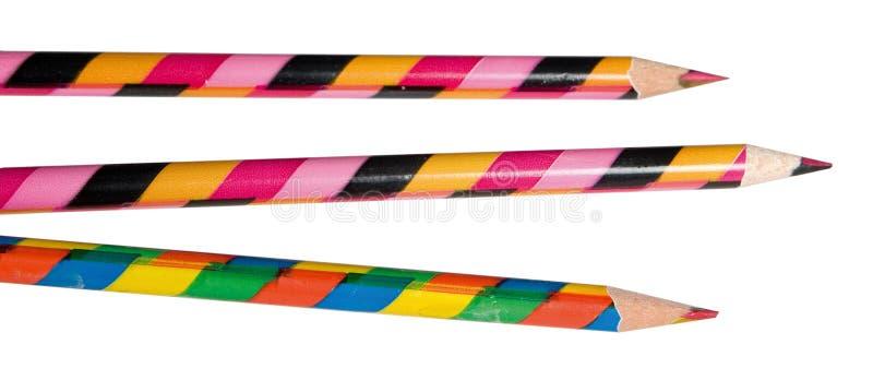 Crayons magiques images libres de droits