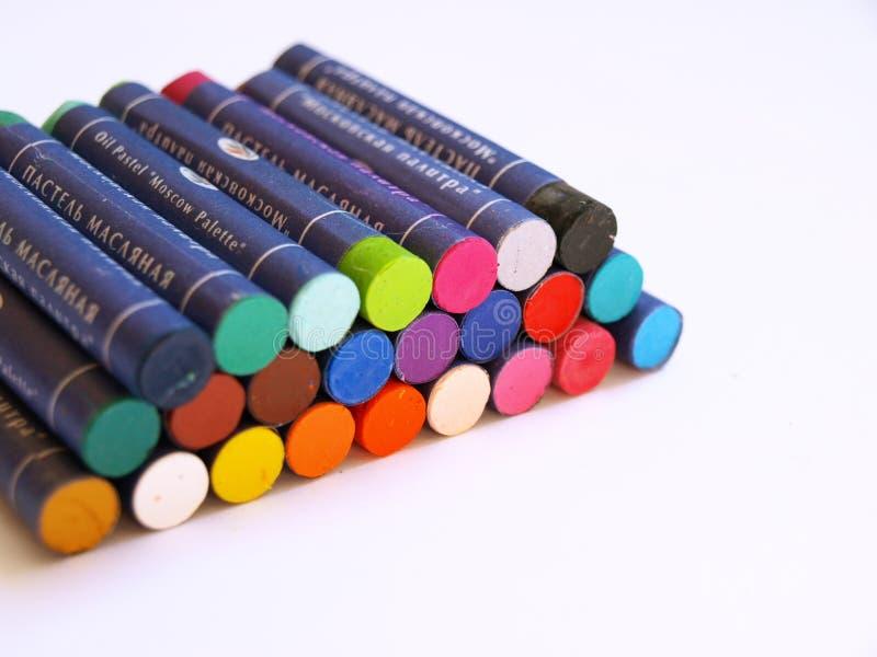 crayonsoljepastell royaltyfria foton