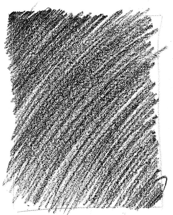 crayontexturwax vektor illustrationer