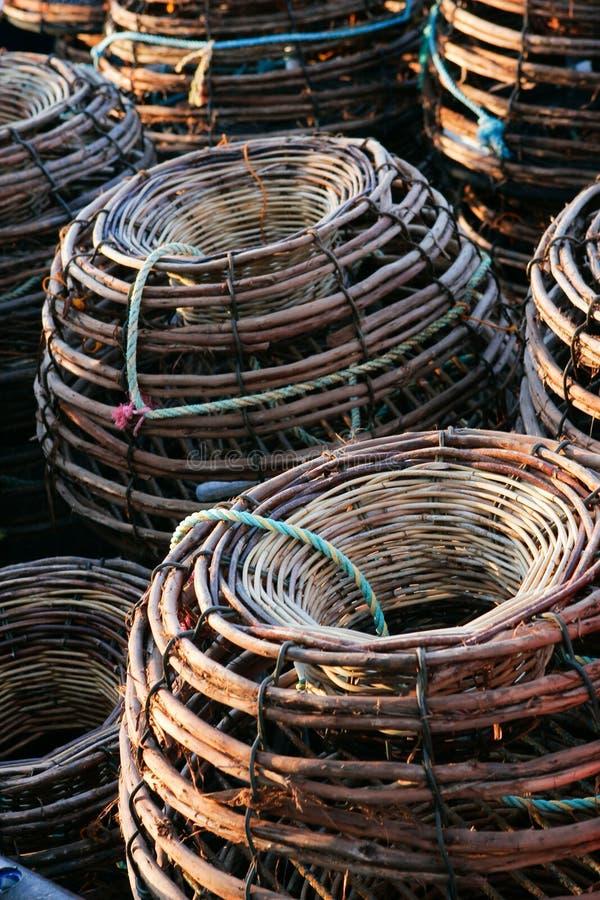 Download Craypots stock photo. Image of haul, bamboo, crayfish - 7591728