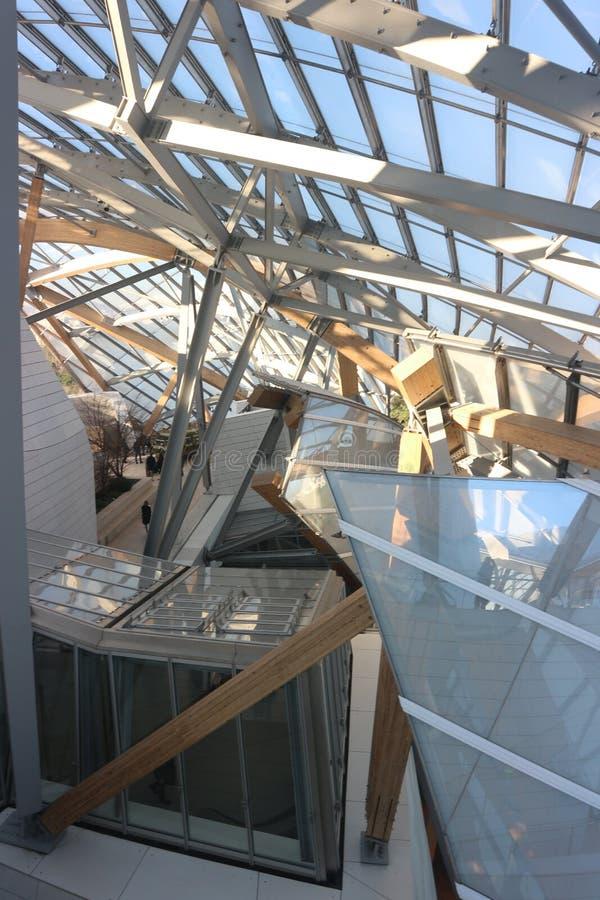 Crazy Architecture van Frank Gehry stock afbeelding