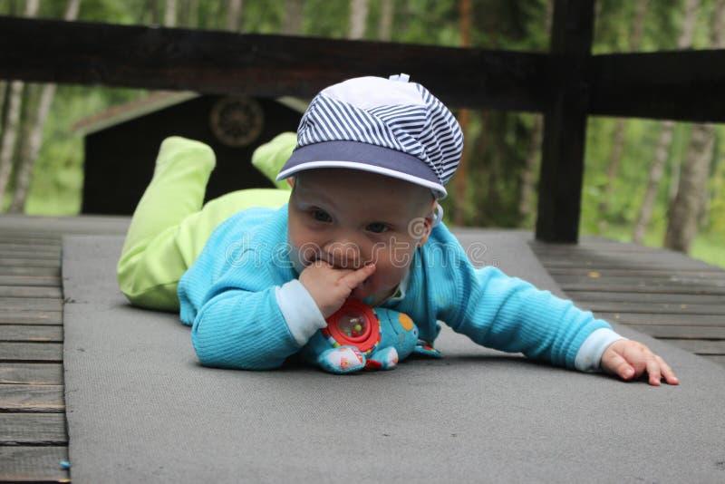 Little boy, happy little loved beautiful boy stock photo