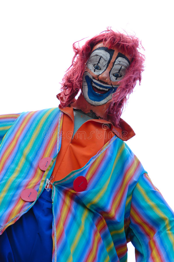 Free Crazy Clown Royalty Free Stock Images - 1445139