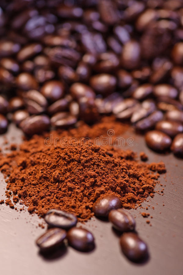 Crazy Coffee Bean Series 3. An image of coffee beans stock photo