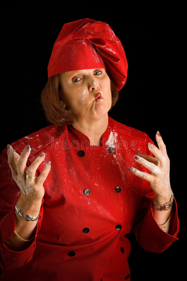 Download Crazy Cook Stock Image - Image: 7300451