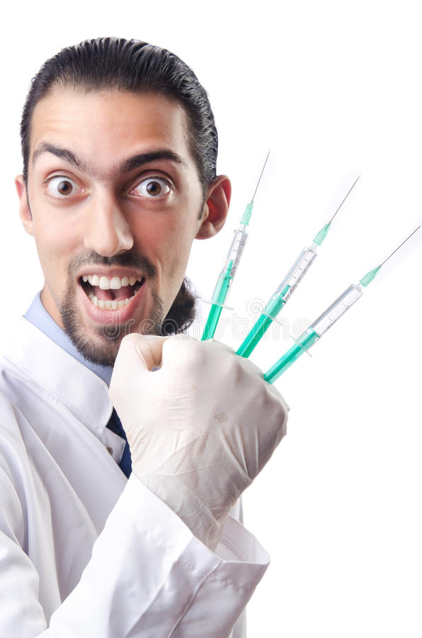 Download Crazy Doctor - Funny Medical Concept Stock Photo - Image: 26050152