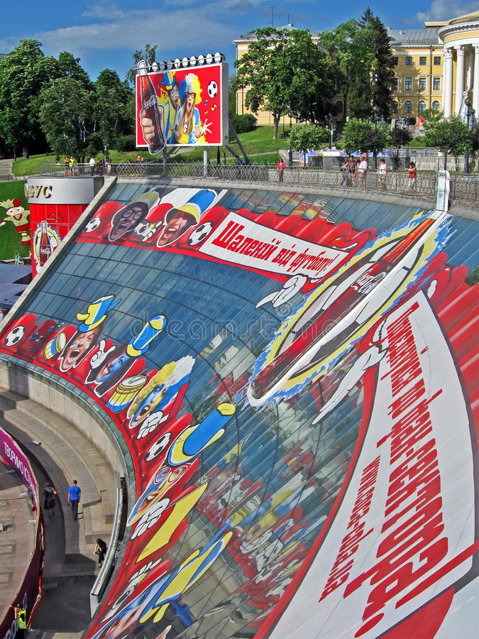 Download Crazy From Football, United To Fun Zone, Kiev, Editorial Stock Image - Image: 25317694