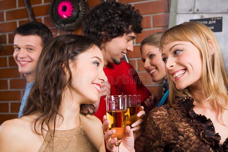 Download Crazy gaze stock image. Image of friends, christmas, elegance - 3696497